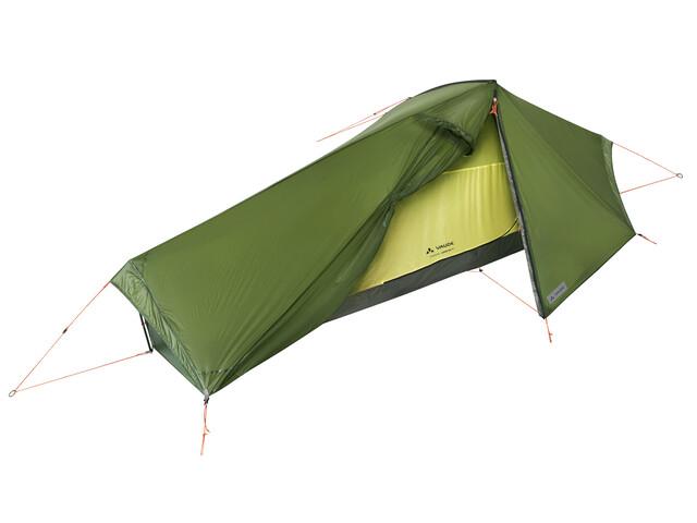 VAUDE Lizard GUL - Tente - 1P vert
